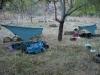 Vochtigste kampeerplek