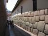 Cuzco - Inca muur