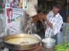 Bananenchips bakken, Pollachi