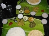 Thali, leaf meal